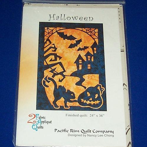 Pacific Rim Quilt Cc Halloween Quilt Pattern 2 Fabric Applique Nancy Lee Chong