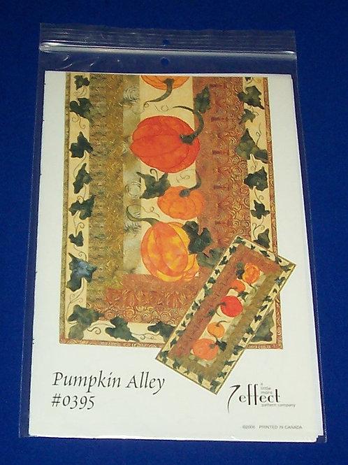 A Little More Effect Pumpkin Alley #0395 Halloween Fall Harvest Quilt Pattern