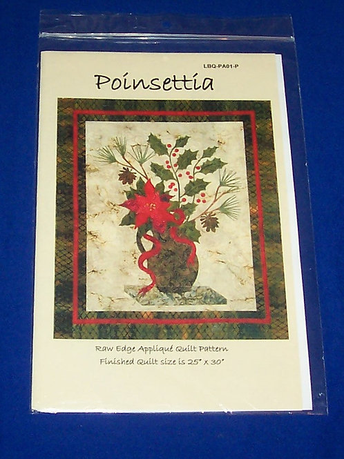 Laundry Basket Quilts Poinsettia Quilt Pattern Christmas