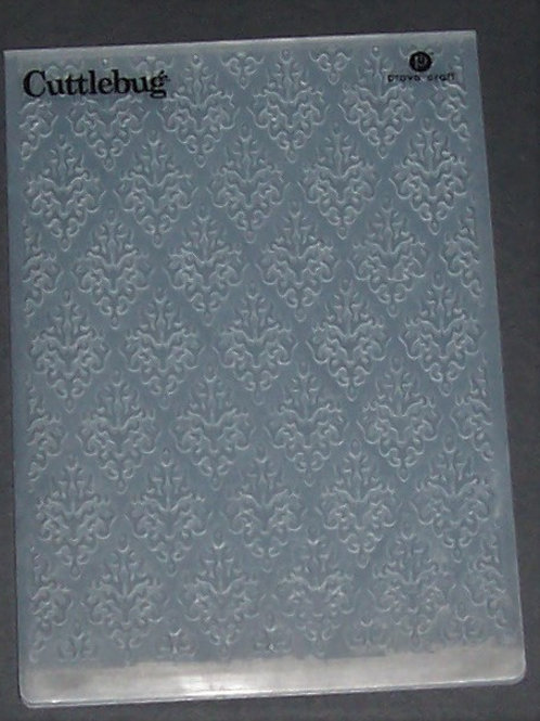 Cuttlebug Embossing Folder Damsk Lace Scrapbooking