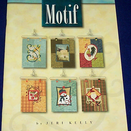Motif Jeri Kelly Quilted Wall Hangings All Seasons Quilt Book