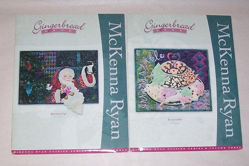 Gingerbread Lane McKenna Ryan Irresistible Bottoms Up Quilt Patterns