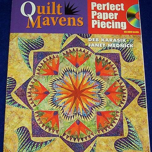 Quilt Mavens Perfect Paper Piecing Deb Karasik + CD Quilt Book