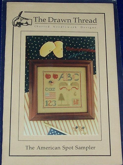 Cross Stitch Pattern Kit The Drawn Thread The American Spot Sampler