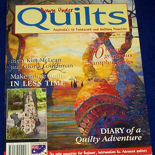 Down Under Quilts Australia Patchwork and Quilting Magazine
