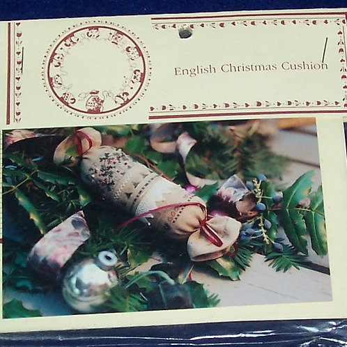 Cross Stitch Pattern Kit Shepherd's Bush English Christmas Cushion