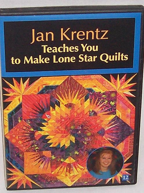 Jan Krentz Teaches You to Make Lone Star Quilts DVD