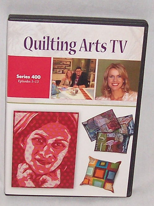 Quilting Arts TV Series 400 Episodes 1 - 13 DVD Patricia Bolton