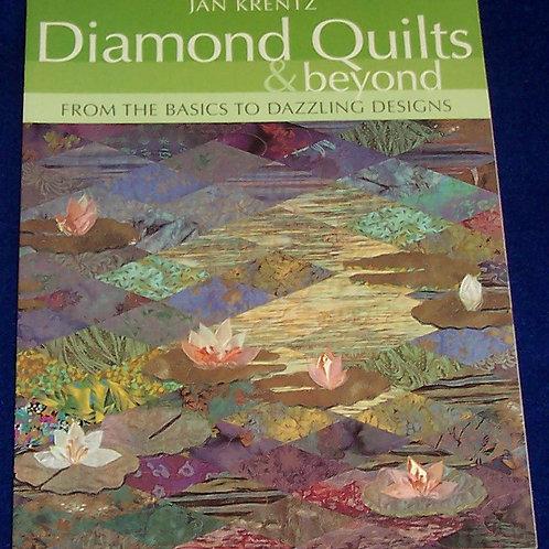 Diamond Quilts & Beyond Jan Krentz Quilt Book Basics to Dazzling Designs