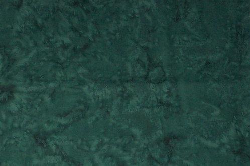 Batik Hunter Green Fabric - Darker than pictured
