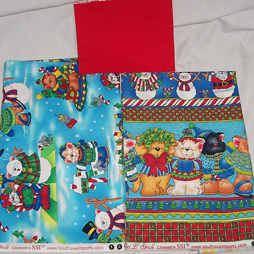SSI Chen L. Strole Jolly Hollydays Pillow Kit No Pattern (Remnants)