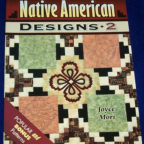 Native American Designs 2 Joyce Mori Quilt Book