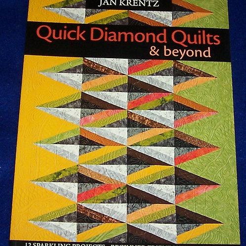 Quick Diamond Quilts & Beyond Jan Krentz Quilt Book