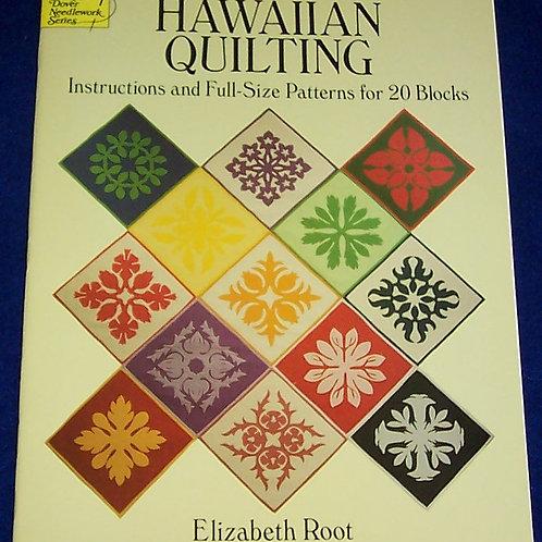 Hawaiian Quilting Elizabeth Root Quilt Book