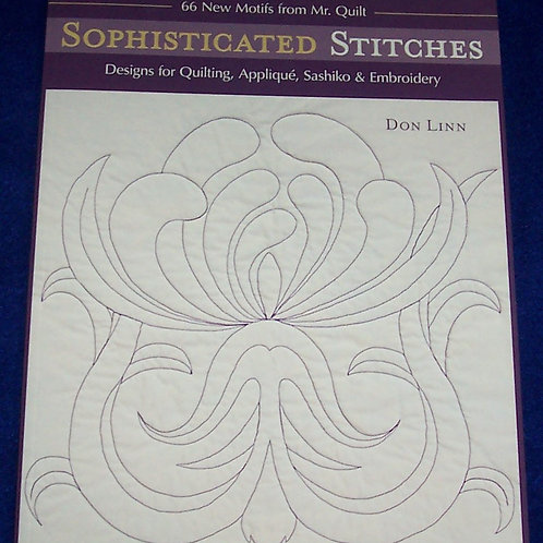 Sophisticated Stitches Don Linn Quilt Book