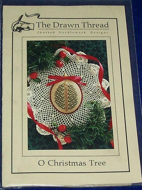 Cross Stitch Pattern Kit The Drawn Thread O Christmas Tree