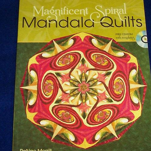 Magnificent Spiral Mandala Quilts Quilt Book w/CD-ROM