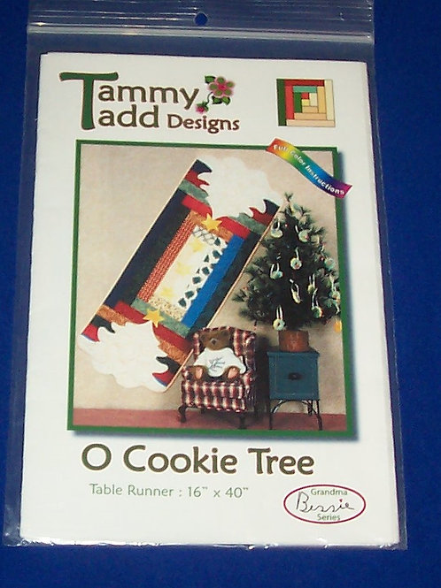 Tammy Tadd Designs O Cookie Tree Quilt Pattern Christmas