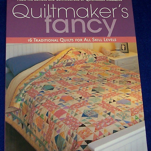 Quiltmaker's Fancy  Quilt Book