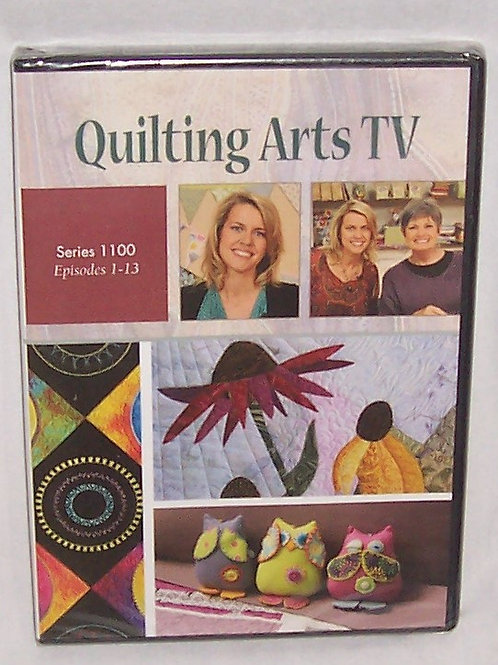 Quilting Arts TV Series 1100 Episodes 1 - 13 DVD Patricia Bolton