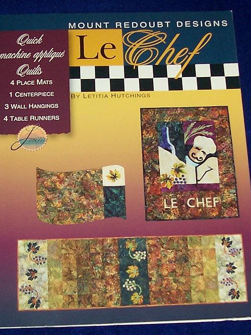 Le Chef Mount ReDoubt Designs Quilt Book