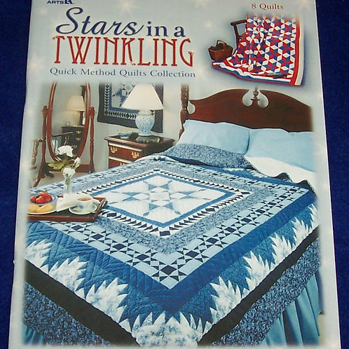 Stars in a Twinkling Leisure Arts Quilt Book