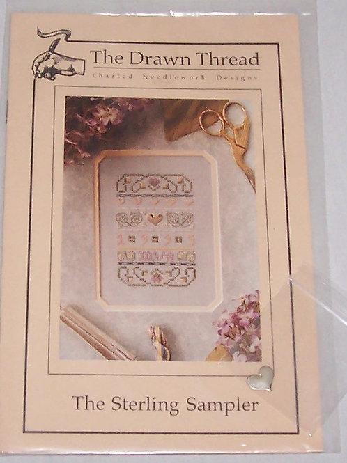 Cross Stitch Pattern Kit The Drawn Thread The Sterling Sampler w/Charm