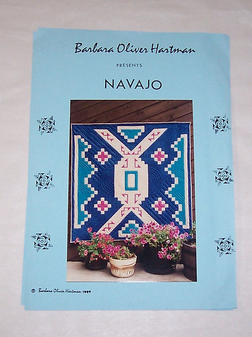 Navajo Barbara Oliver Hartman Quilt Pattern
