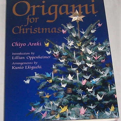 Origami for Christmas Book Chiyo Araki Hardcover