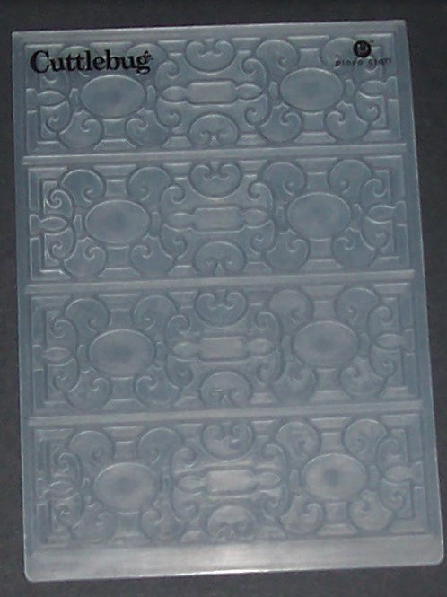 Cuttlebug Embossing Folder Mary Ann Decorative Scrapbooking