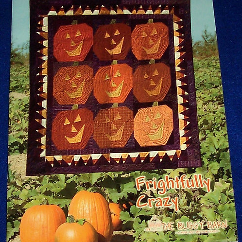 Frightfully Crazy The Buggy Barn Quilt Book Halloween