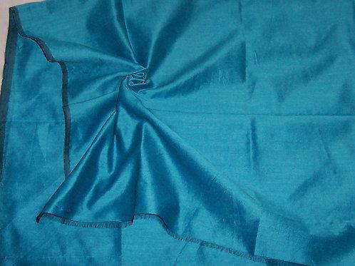 Silk Dupioni By the Piece Blue 1 Yard