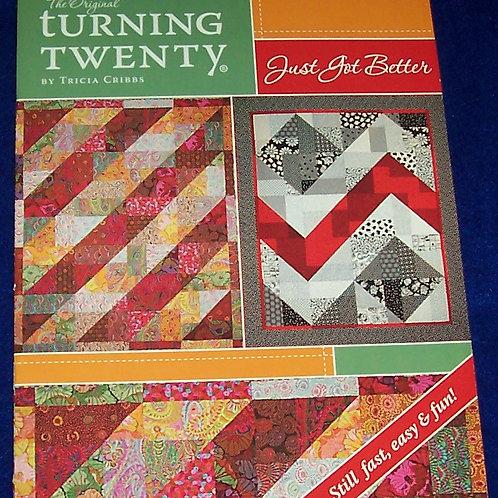 The Original Turning Twenty Just Got Better Tricia Cribbs Quilt Patterns