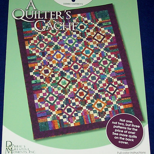 A Quilter's Cache It's Your Move + Happy Holly Daze Debbie Caffrey Quilt Pattern