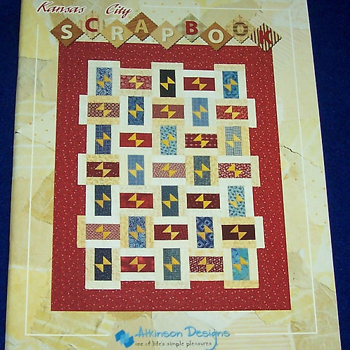 Kansas City Scrapbook Atkinson Designs Quilt Book