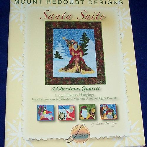 Santa Suite Mount ReDoubt Designs Quilt Book