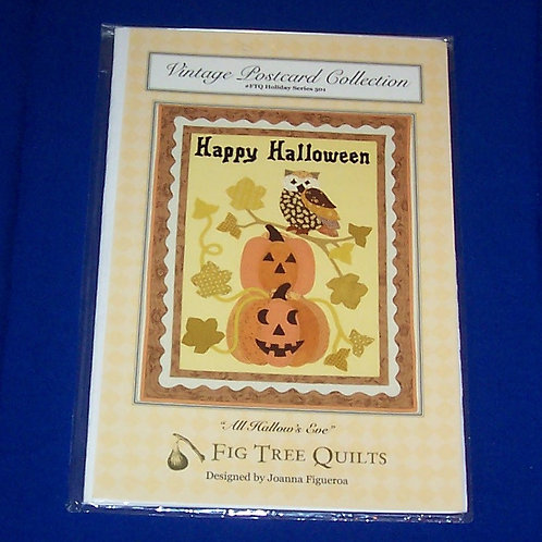 Fig Tree Quilts All Hallow's Eve Halloween Quilt Pattern Series 501