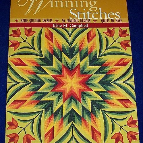 Winning Stitches Elsie M. Campbell Quilt Book