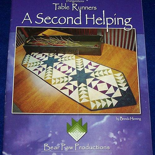 A Second Helping Brenda Henning Quilt Book