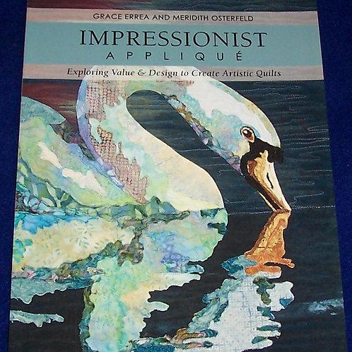 Impressionist Applique Grace Errea Meridith Osterfeld Quilt Book