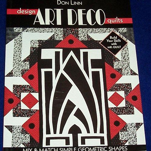 Design Art Deco Quilts Book Don Linn Mr. Quilt