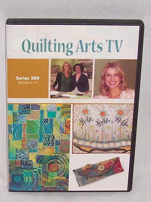 Quilting Arts TV Series 500 Episodes 1 - 13 DVD Patricia Bolton