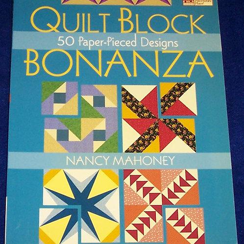 Quilt Block Bonanza Nancy Mahoney Quilt Book
