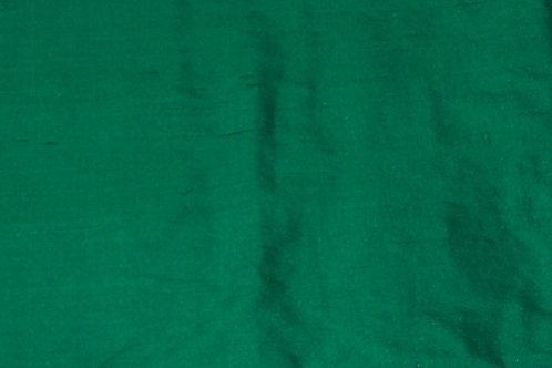 Silk Dupioni By the Piece Green 2 Yards