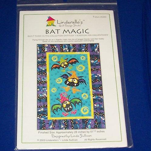 Linderella's Quilt Design Studio Bat Magic Quilt Pattern Linda Sullivan