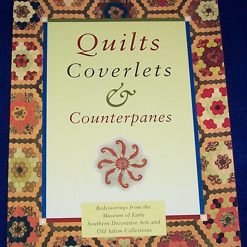 Quilts Coverlets & Counterpanes Museum Quilt Book