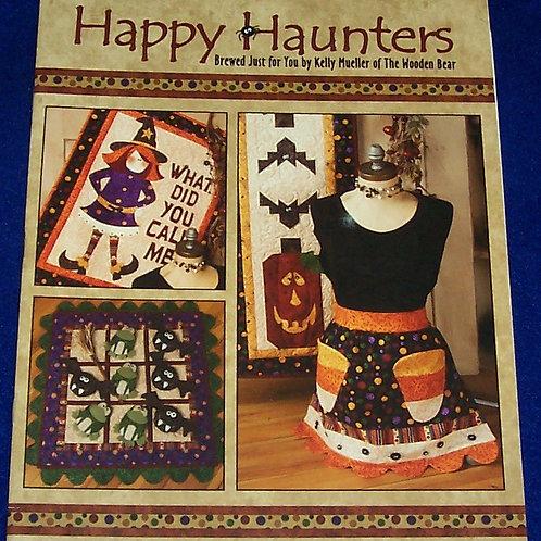 Happy Haunters Kelly Mueller of The Wooden Bear Quilt Book Halloween