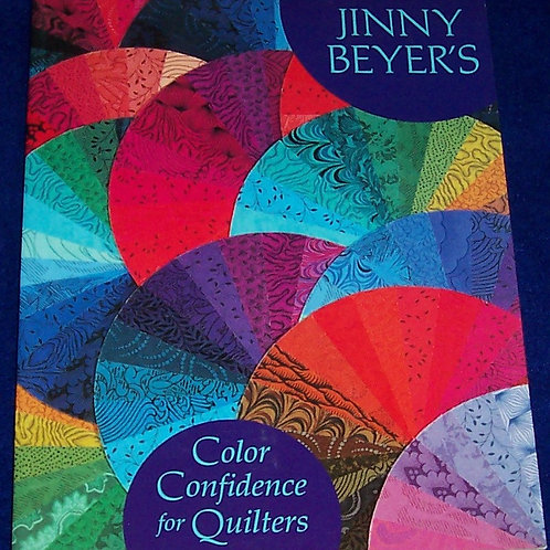 Color Confidence for Quilters Jinny Beyer Quilt Book