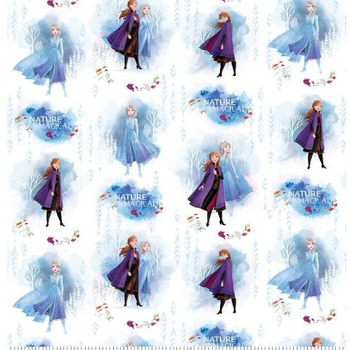 Disney Frozen 2 Nature is Magical Cotton Fabric Fat Quarter
