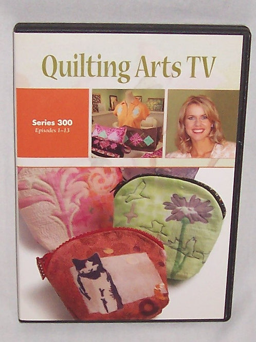 Quilting Arts TV Series 300 Episodes 1 - 13 DVD Patricia Bolton